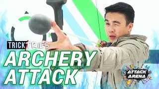 ARCHERY ATTACK 🏹 (Manila, Philippines) | THE ATTACK ARENA | TrickTries Arrow Tag | TricksterzPH