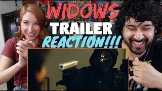 WIDOWS | Official TRAILER REACTION & REVIEW!!!