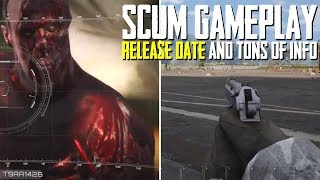 SCUM GAMEPLAY | Release Date & TONS of NEW Survival Details