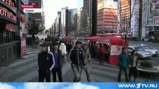 10-2013 Южная Корея    трущебы в окружении небоскребов