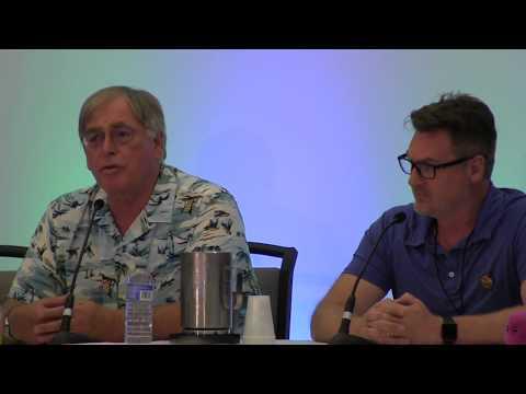 Garry Chalk and David Kaye at TFCON Toronto 2018