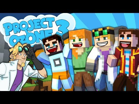 Minecraft Project Ozone 3 - COOL BOYZ ALSO PEDGUIN #1