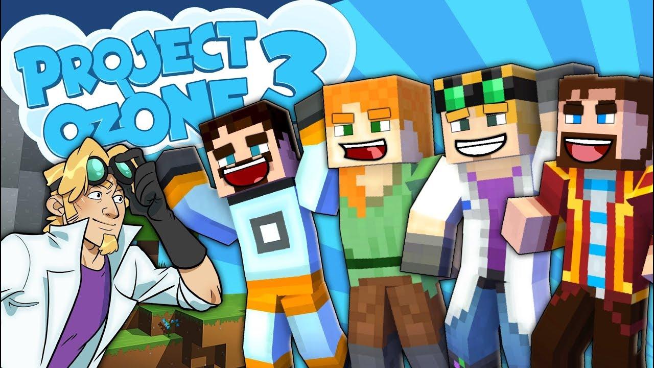 Minecraft Project Ozone 3 - COOL BOYZ ALSO PEDGUIN #1