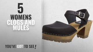Top 5 Womens Clogs And Mules [2018]: MIA Women's ABBA Mule, Black, 10 M US