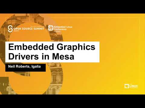 Embedded Graphics Drivers in Mesa (ELCE 2019)