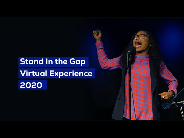 Victoria Orenze - @Stand In the gap virtual experience 2020