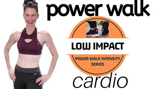 40 MINUTE WORKOUT | POWER WALK | INDOOR WALK | WALKING PROGRAM | WALK FOR CARDIO