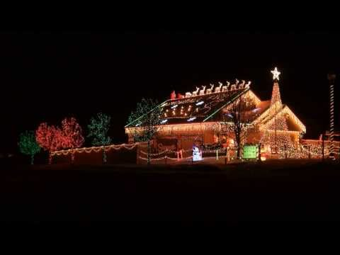 Christmas Vacation Intro 2013 Engh-Lights Christmas Light-O-Rama Display LOR