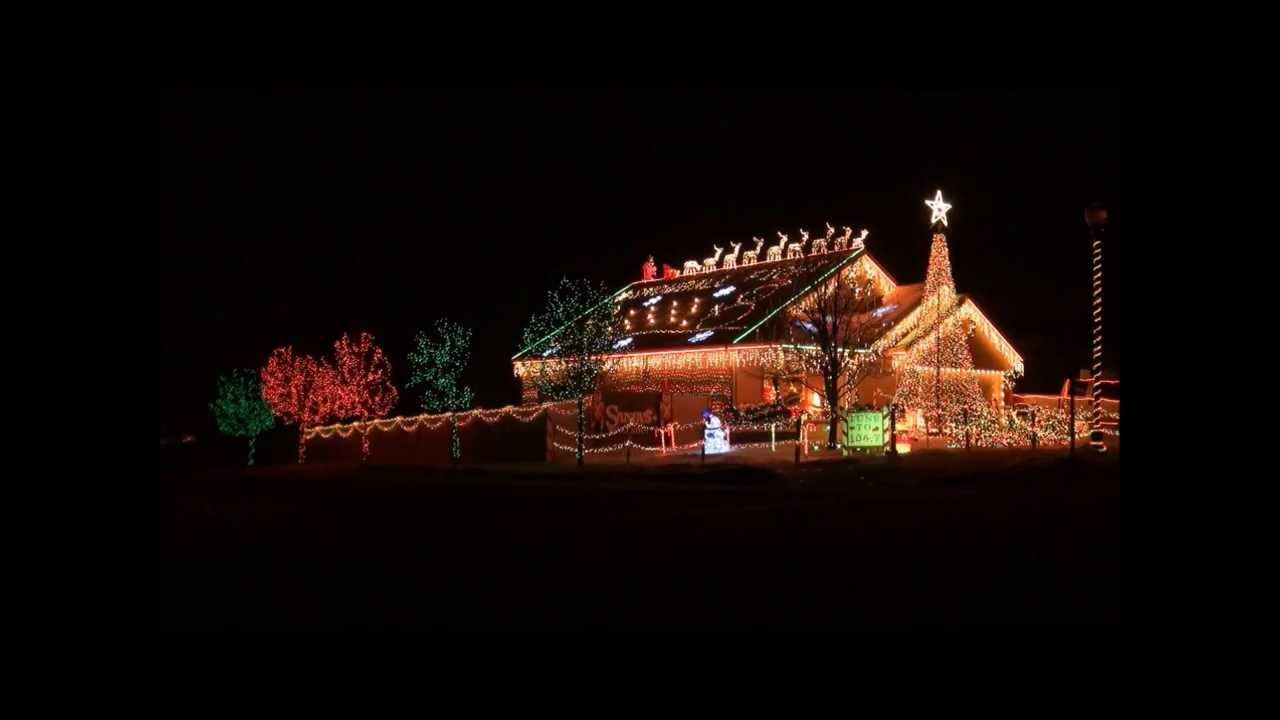 christmas vacation intro 2013 engh lights christmas light o rama display lor