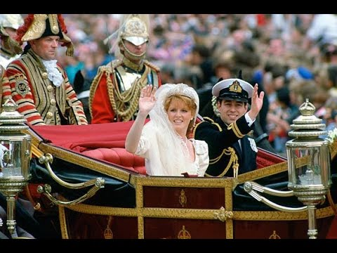 The Royal Wedding of Prince Andrew and Sarah Ferguson 1986