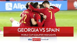 Ferran Torres & Dani Olmo snatch last-gasp win 😱| Georgia 1-2 Spain | World Cup Qualifier Highlights