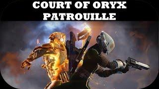 destiny patrouille dans le cuirasse d oryx