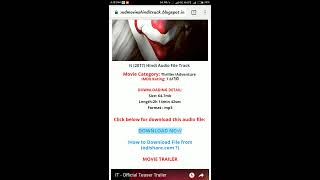 How to download Hindi audio for Hollywood movies.💣💣💥