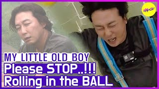 [HOT CLIPS] [MY LITTLE OLD BOY] STOP!! STOP!!! Rolling in the big ball😱 (ENG SUB)