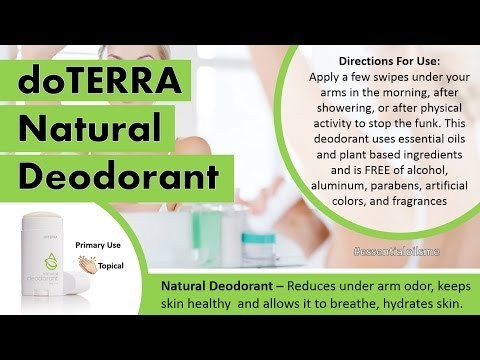 Why The doTERRA Deodorant Makes Underarms Happy