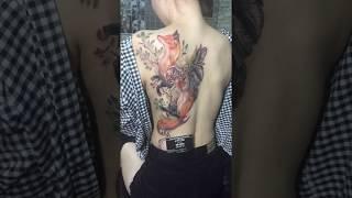 Hình Xăm Hồ Ly Tả Thực tại Đỗ Nhân Tatttoo
