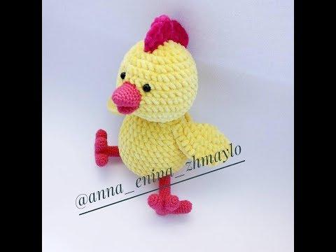 Вязаные крючком цыплята со схемами
