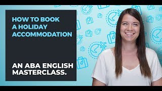 How to book a hotel in English | A guide