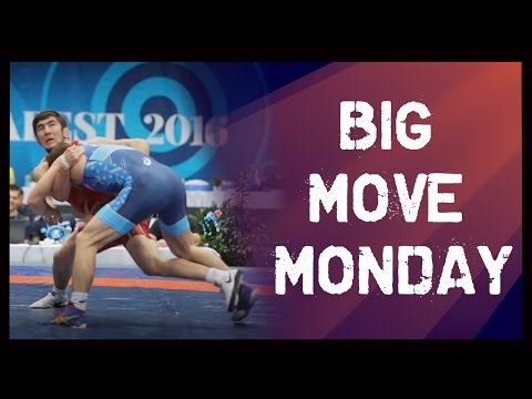 Big Move Monday -- Akhmed CHAKAEV (RUS) -- 2016 Non Olympic World C'ships