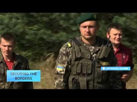 Securing Ukraine's Borders: Meet volunteers patrolling Polish frontier