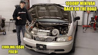 Making Our 1000Hp Minivan Streetable!