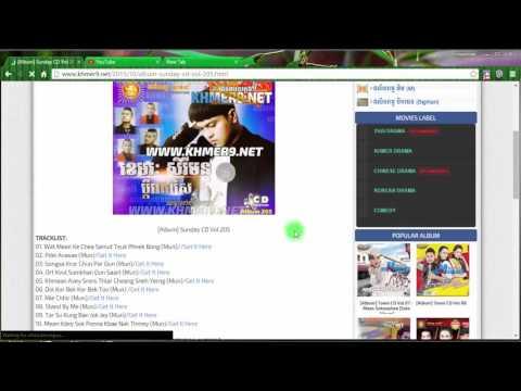 How to download khmer music full album 100% work