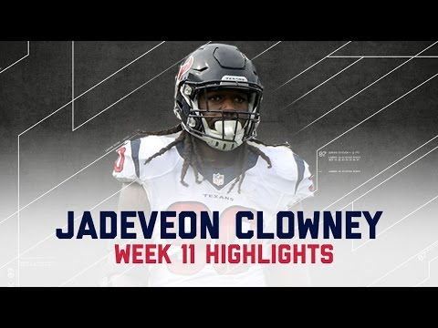 Jadeveon Clowney Stuffs the Run All Night | Texans vs. Raiders | NFL Week 11 Player Highlights