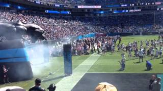 Carolina Panthers Player Introduction 10/5/14 (BCA Month)