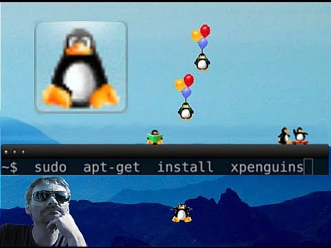 Ubuntu 12.10 : xpenguins