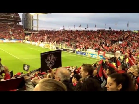 Toronto FC 2016 Home Opener Canadian National Anthem