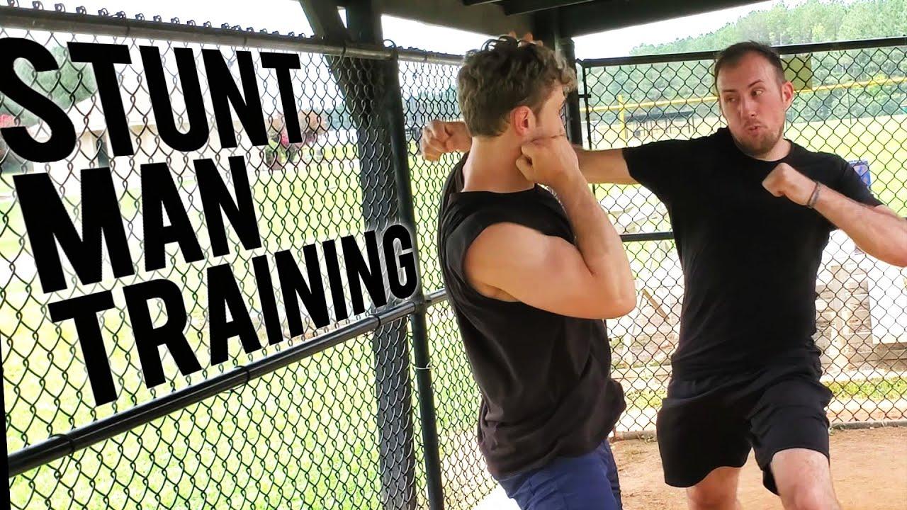 Summer Stunt Man Training (Fights, Parkour, Flips)