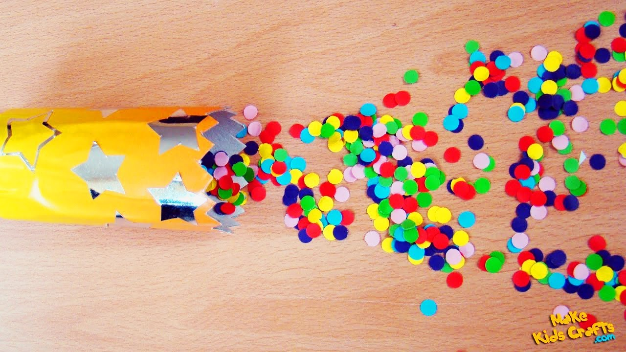 Homemade Confetti Cannon 59