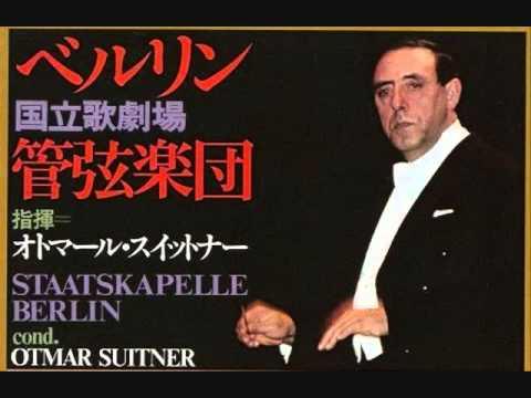 ブラームス交響曲第一番 スウィトナー / ベルリン国立歌劇場 1978 東京