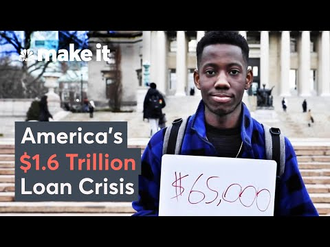 How U.S. Student Loans Became A $1.6 Trillion Crisis