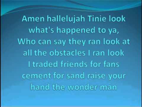 Tinie Tempah ft Ellie Goulding - Wonderman lyrics