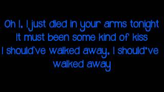 Cutting Crew - I Just Died in Your Arms W/ Lyrics