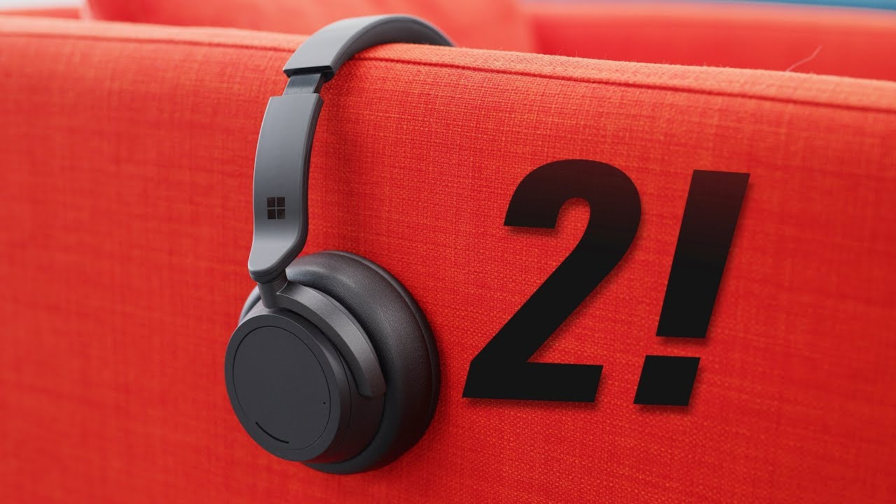 Surface Headphones 2: Matte Black Everything!