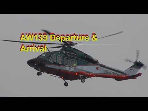 AgustaWestland AW139 Helicopter: Departure & Arrival!!! - YouTube