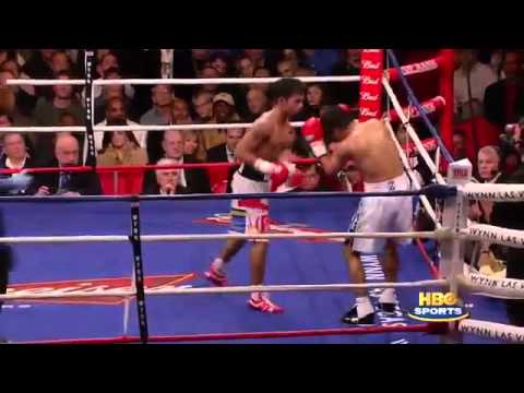 One of the best fights in Boxing history Morales vs  Pacquiao II