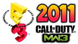 e3 2011 talk modern warfare 3 battlefield 3 mw3 bf3 black ops multiplayer gameplay