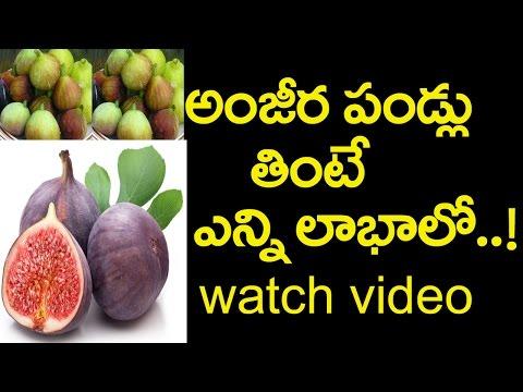 Health Benefits of Anjeer Fruits|అంజీర పండ్లులో పోషక విలువలెన్నో|Health Tips|Friday Poster