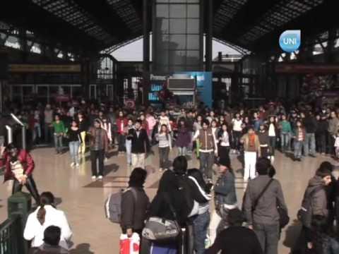 Michael Jackson en Estación Central