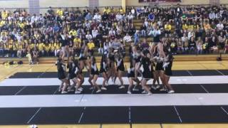 WHS Varsity Cheer Homecoming Rally Performance 2016