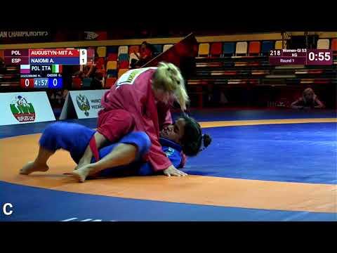 Round 1 Women-Gi - 53 kg: A. AUGUSTYN-MIT (POL) v. A. NAIOMI (ESP)