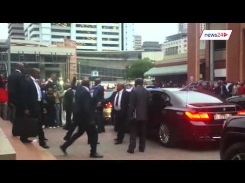 WATCH: Zuma booed in Pretoria