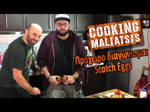 Cooking Maliatsis - 114 - Πρόχειρο διαγώνισμα: Scotch Eggs