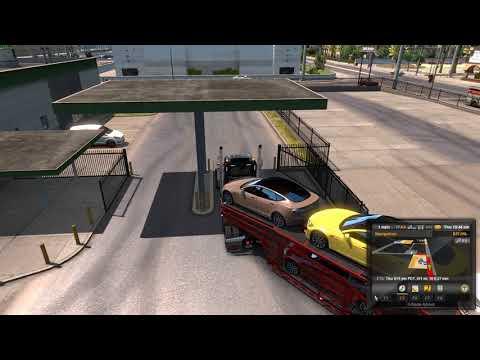 American Truck Simulator Las Vegas to Oakland