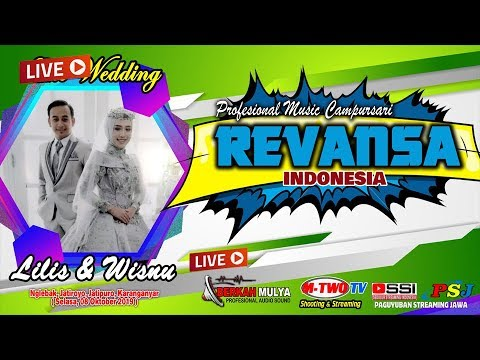 🔴📡LIVE // Cs REVANSA// M-Two Tv// Wedding Lilis & Wisnu // Nglebak, 08Okt 2019