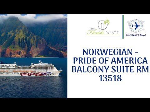 Norwegian - Pride of America  Balcony Suite Rm 13518