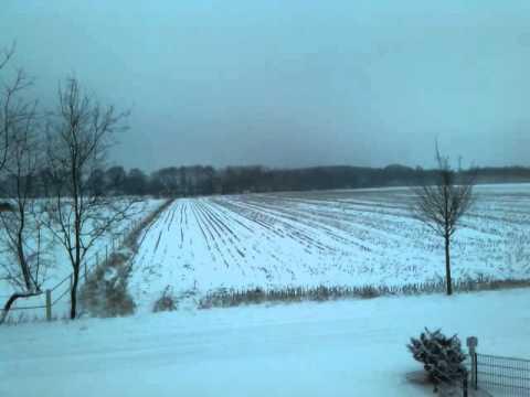 Snowy landscape Haren/Emmeln (Germany)---Schneelandschaft Haren/Emmeln 26 January 2014